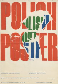milton glaser polish  poster by milton glaser