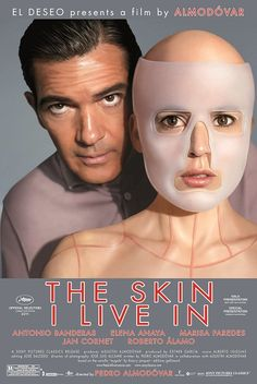 """""""The Skin I Live In"""" Official Trailer This Pedro Almodóvar film stars Antonio Banderas. It's creepy but fascinating. You'll be glued to your seat trying to figure out its mysteries! See Movie, Movie Tv, Movie List, Almodovar Films, Bon Film, Movies Worth Watching, Poster S, Ex Libris, Streaming Movies"""