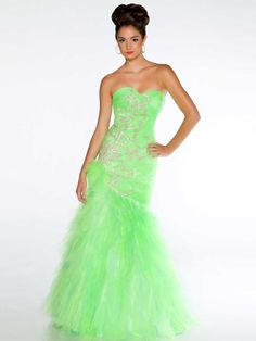 Discount 2014 Empire Tulle A-line Pleated Green 2013 Open Back Ball Gown Prom/evening/pageant Dress Mac Duggal Gowns 61199h $249 Mac Duggal Dresses