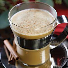 #Silkology Cinnamon Glow w/soy, almond, or coconutmilk, cardamom, ginger, bitters, and cinnamon sugar (optional: herbal liqueur)