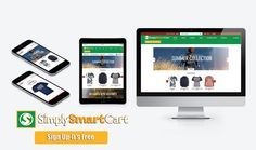 Only 6 days left to get free for 1 year Sell online? Want to sell online?  Get the new easy to set up ‪#‎shoppingcart‬ that enhances your business. Sign up now at- http://www.simplysmartcart.com/