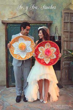 Mexican Wedding Photo Op themarriedapp.com hearted <3 #mexican #wedding #cincodemayo #themewedding #weddinginspiration