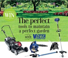 Victa-Comp Gardening Magazines, Garden Tools, Comic Books, Yard Tools, Comic Book, Outdoor Power Equipment, Comics, Comic
