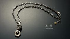 Piston skull necklace | Let's Ride  http://www.pinkoi.com/product/1heT7Cek