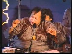 Ustad Nusrat Fateh Ali Khan & Party Live in Concert was screened on television as part of India & Pakistan's Golden Jubilee celebrations. In this video, The . Nusrat Fateh Ali Khan, Sufi Music, Folk Music, Music Love, My Music, Local Music, Classical Music, Are You Happy, Celebrities