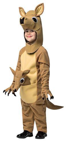 Kangaroo Child Costume One-Size