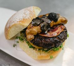 The Most Expensive Burgers in America | FirstWeFeast.com
