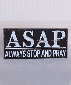 Black & White 'Always Stop and Pray' Brick Decor Bible Quotes, Me Quotes, Bible Verses, Scriptures, Great Quotes, Inspirational Quotes, Motivational Quotes, Images Bible, Way Of Life