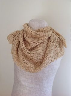 Undeniable Glitter: Gold Shimmer Shawl made with Vanna's Glamour!
