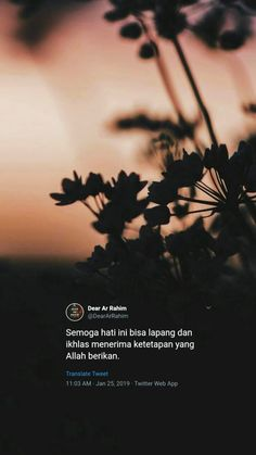 Reminder Quotes, Self Reminder, Sabar Quotes, Islamic Quotes Wallpaper, Religion Quotes, Quotes Galau, All About Islam, Bare Bears, Muslim Quotes