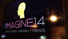 """IMAGINE 14: INNOVATIONEN - VISIONEN - TRENDS Vortrag """"Das besondere sichtbar machen-Experience Design"""" Innovation, Neon Signs, Trends, Design, Design Comics"""