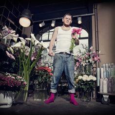 #design3000 #design #violett #men Farbige Socken für mutige Männer.