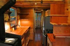 30 Foot Trailer House With Two Lofts Made For Family In Texas