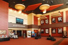 The interior of the 68,000 square foot Frank Theatres Cinebowl & Grille at the new Promenade at Granite Run Mall.<br />