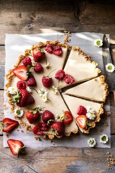No Fuss Lemon Tart is part of food_drink - Made with only 4 base ingredients and a crust of sweet graham crackers, salty pretzels, and a touch of butter Combine with the creamy lemon filling perfection! Tart Recipes, Dessert Recipes, Cooking Recipes, Lemon Recipes, Sweet Recipes, Best Coconut Cream Pie, Sweet And Spicy Shrimp, Homemade Chocolate Chip Cookies, Think Food