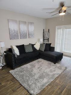 Living Room Decor Colors, Decor Home Living Room, Teen Room Decor, Living Room Sets, Apartment Interior, Apartment Living, Apartment Ideas, Small Room Bedroom, Home Bedroom