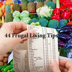44 Frugal Living Tips - Consumer News - SavingsMania
