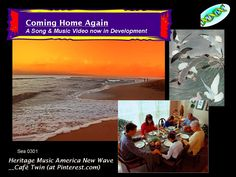 Coming Home Again__ A Song & Experimental Music Video now in development with virtual team Cafe Twin at Fairfax, VA Arts & Science Bridge