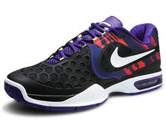 Worn by Rafael Nadal: Nike Air Courtballistec Men's Shoe Air Max Sneakers, Sneakers Nike, Tennis Warehouse, Tennis Gear, Rafael Nadal, Water Shoes, Nike Air Max, Purple, Clothing