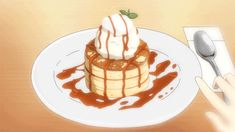 Southern Food Thanksgiving - Food Easy Step By Step - Christmas Food Poster - - - Food Dinner Simple Anime Bento, Japanese Pancake, Japanese Food, Main Manga, Cute Food, Yummy Food, Onigirazu, Anime Gifs, Japanese Desserts