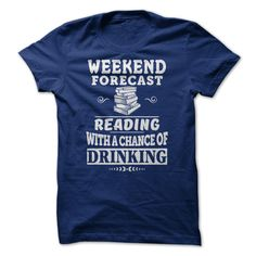 Visit site to get more cool tee shirts, cool tees, cool graphic tees, cool tee shirt designs, cool tees online. Weekend Forecast Reading with a chance of Drinking Beer Shirts, Baseball Shirts, Funny Shirts, Zombie Shirt, Drinking Shirts, Drinking Funny, Sweater Shirt, Sweatshirt Outfit, Sweater Pillow