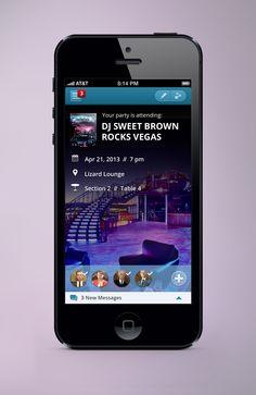 UI #iOS #app design exploration from Handsome Design