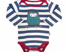 Kite Baby Boys Stripy Owl Long Sleeve Sleepsuit, Blue (Navy), 3-6 Months No description (Barcode EAN = 5055547932401). http://www.comparestoreprices.co.uk/baby-clothing/kite-baby-boys-stripy-owl-long-sleeve-sleepsuit-blue-navy--3-6-months.asp