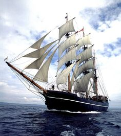 Tall Ship Kaskelot before it lost all his character and style.