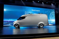 Mercedes Vision Van Concept - Car Design News Auto Design, Automotive Design, Buses, Concept Cars, Van, Exterior, Trucks, News, Vehicles