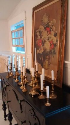 Candle stick collection