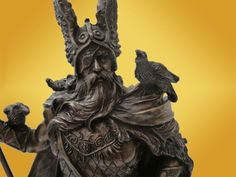 viking valhalla | ... Statuette Antique Dieu Viking Mythologie Antiquité Nordique Valhalla