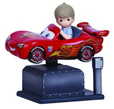 Disney Precious Moments Cars - Lightening McQueen coin ride
