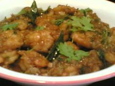 Best Indian shrimp curry ever! A specialty of Andhra Pradesh.