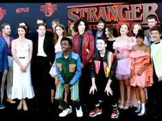 i may have shed a few tears while making this but i'm beyond proud of this cast. season 3 was just, wow, INCREDIBLE! it left me… Stranger Things Actors, Bobby Brown Stranger Things, Stranger Things Aesthetic, Stranger Things Funny, Eleven Stranger Things, Stranger Things Season, Stranger Things Netflix, Disney Channel, Best Tv Shows