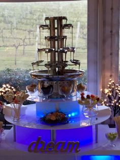 Hire Chocolate Fountains for Your Wedding Chocolate Fountains, Fondue, Mario, Wedding Planning, Party Ideas, Weddings, Business, Waterfalls, Fonts