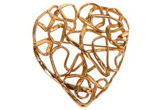 One Kings Lane - YSL Heart Pin