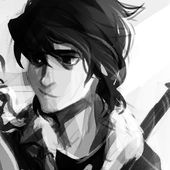 Nico di Angelo. I love the soft smile on his face.... :')