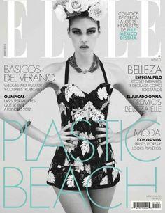 Gara Noel Elle Mexico Cover