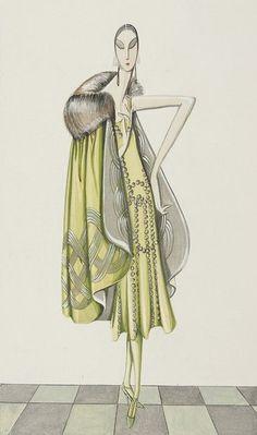 JEANNE LANVIN | fashion ideas | Pinterest | Fashion illustrations ...
