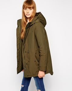 mbyM Hooded Jacket With Drawstring Detail