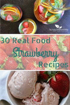 Eat the real rainbow via conveyawareness enjoy real food bloggers 30 real food strawberry recipes forumfinder Gallery