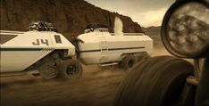 The new Lost in Space Series chariot. One of two - with a trailer. Series premiers April 13, 2018.