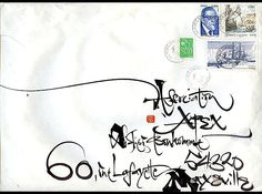Mail Art & Calligraphy