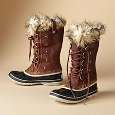 Sorel® ups the ante on winter boots by waterproofing their classics in full grain leather and suede.