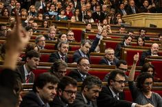 #Parliament of #Catalonia approved the #Declaration of #sovereignty. The Parliament of Catalonia has #approved an #historical declaration of sovereignty claiming the right to #selfdetermination by the #Catalan people. The declaration was supported by 85 members of the parliament against 41 in a 135-member parliament.