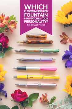 Which Flower-Inspired Pen Matches Your Personality