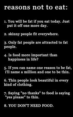 Image result for pro ana thinspiration