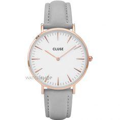 Ladies Cluse La Boheme Leather Watch CL18015