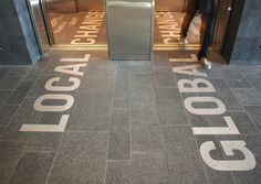 elevator floor graphics - local change/global change