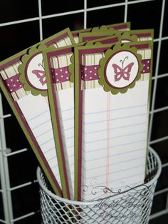 simple note pads
